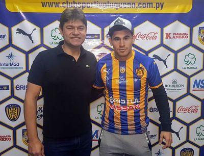 Walter Ortiz retorna al Sportivo Luqueño