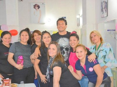 Nelson Haedo Valdez visitó a las internas del Buen Pastor