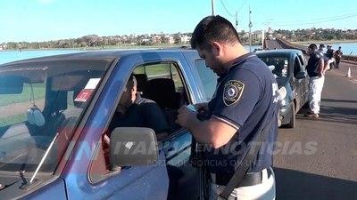 AUMENTAN LOS CONTROLES CERROJOS DE LA POLICÍA EN ITAPÚA.