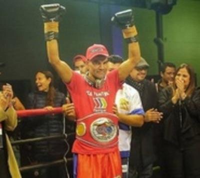 El Campeón Sudamericano de Boxeo trabajará en estación de servicios