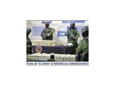 México y EEUU, ante el reto de encontrar el botín de El Chapo