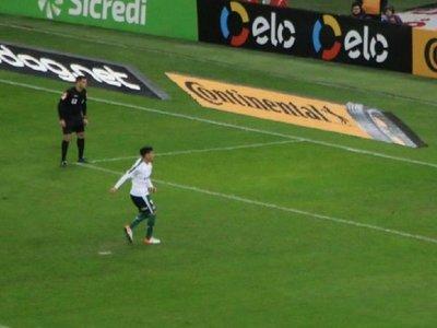 Gustavo Gómez vuelve a malograr un penal en Brasil