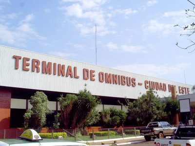 Terminal de Ómnibus, a cargo de la comuna de CDE