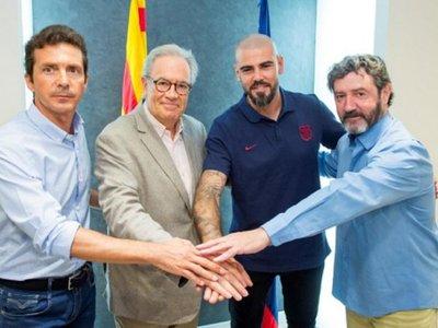 Valdés regresa a Barcelona como técnico