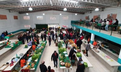 Inauguran local de productores feriantes en Minga Guazú