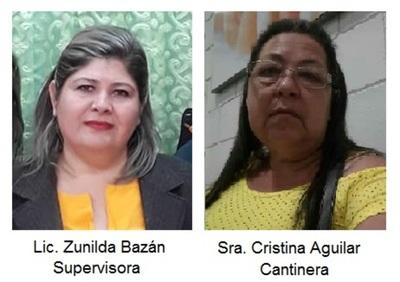 Supervisora Administrativa del MEC protege a cantinera de la Escuela 5414 San Antonio de Padua
