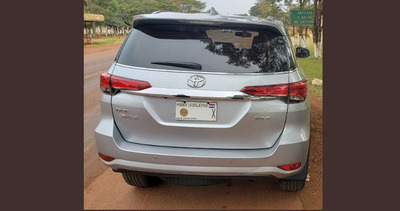 Incautan camioneta robada en Brasil y usada por diputado liberal