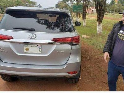Camioneta robada en Brasil estaba a nombre de diputado paraguayo