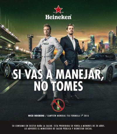 Heineken lanzó su campaña para concienciar consumo de alcohol