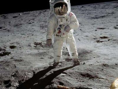 Un enorme salto  para la humanidad, la llegada del hombre a la Luna