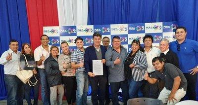 Efraín Alegre: Contento por la madurez de mayoría de liberales de San Lorenzo