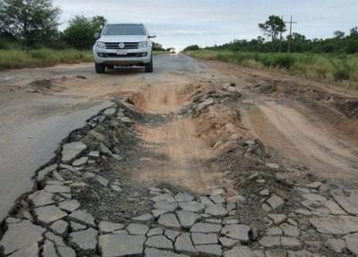Reparación de la Ruta Transchaco, un alivio para los camioneros