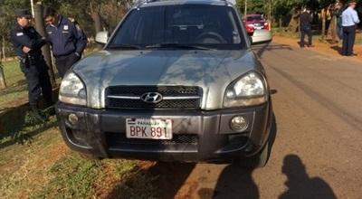 Hallan vehículo utilizado en mortal asalto en Itauguá