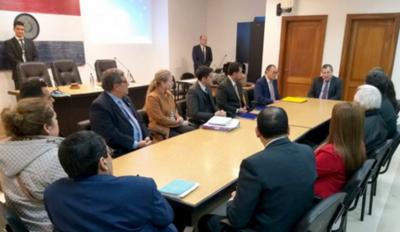 Titular de Corte en presentación de autoridades para SNFJ
