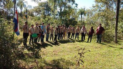 Los scouts resurgen en Horqueta tras una década