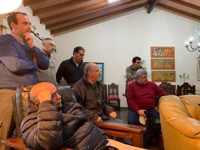 La Tropa organizó recorrida al feedlot de Andrés Canillas a consorcio de consignatarios uruguayos Plazarural