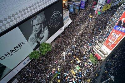 Séptimo domingo consecutivo de manifestaciones en Hong Kong contra el gobierno