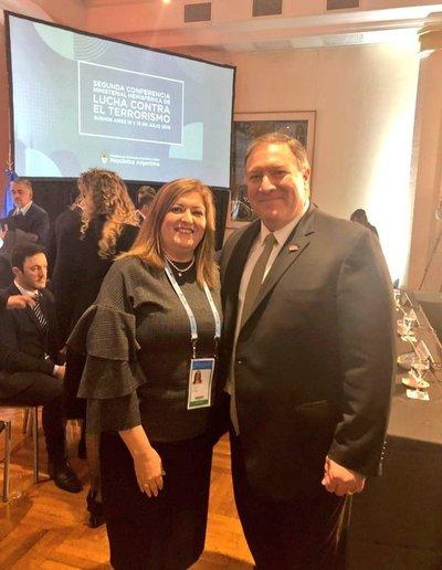 Mike Pompeo destacó cooperación de la Fiscalía General paraguaya
