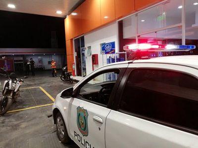 Motochorros asaltan estación de servicios en San Lorenzo