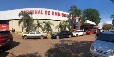 Municipalidad ya recauda por lo percibido en la terminal de buses