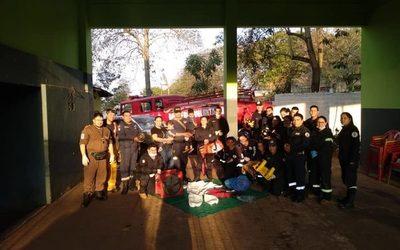 Bomberos de Franco reciben importante donación