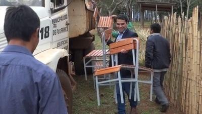 Escuelas de Paraná Poty reciben sillas pedagógicas