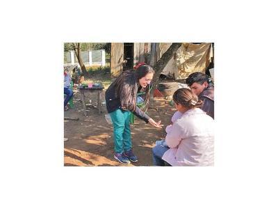 Miss Curuguaty realizó visitas con asistencia médica gratuita