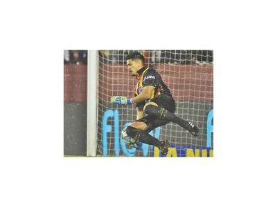 Aquino se lució en la Copa Argentina