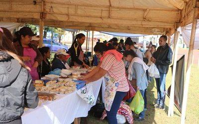 Realizan primera feria de productores de Comités del Programa Tekoporã en Yguazú
