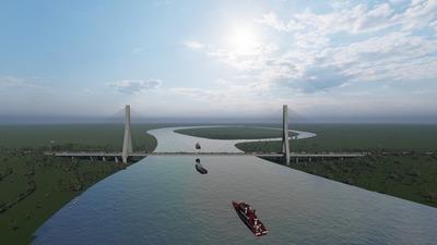 Nuevo puente conectará al Chaco con los principales mercados del mundo