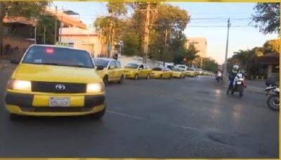 Estos son los puntos que taxistas ocuparán durante manifestación