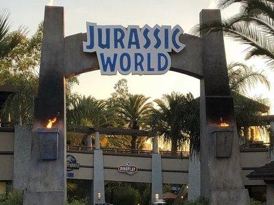 El parque Jurassic World es una realidad en Los Ángeles