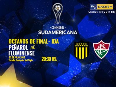Peñarol y Fluminense tienen su primera cita en Montevideo