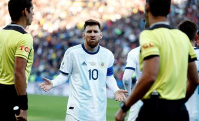 HOY / Un partido de suspensión para Lionel Messi