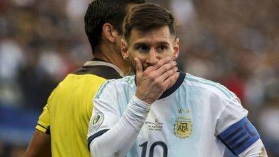 Conmebol informó la sanción a Messi