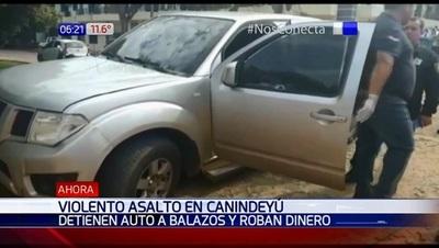 A tiros, desconocidos se llevan G. 87 millones en Canindeyú