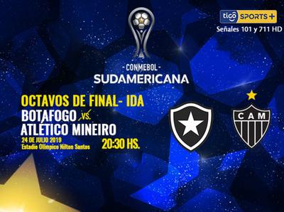 Duelo de brasileños por octavos de la Copa Sudamericana