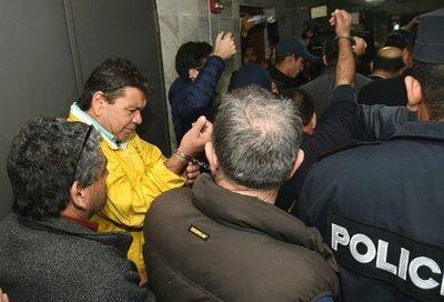 Otorgan prisión domiciliaria a Arístides Morales y dirigentes taxistas