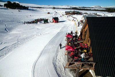 Invierno entre cerros de Neuquén