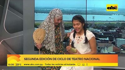 """Segunda edición de """"Ciclo de teatro nacional"""""""