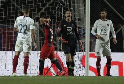 Cerro aguantó y sacó un empate ante San Lorenzo