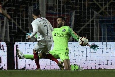 Carrizo se refirió a su ocasión de gol