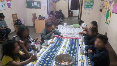 Rescatan a otro numeroso grupo de niños indígenas en la zona Terminal
