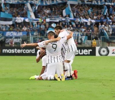 Libertad mide en la ida por octavos de Copa a Gremio