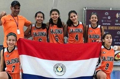 Las 'peques' del Sajonia son campeonas en Brasil