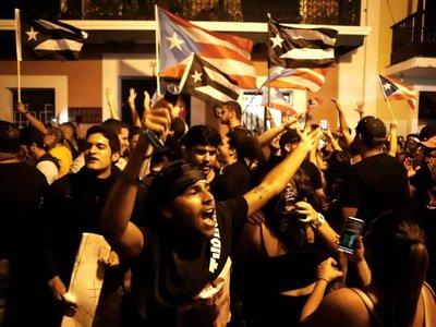 Gobernador de Puerto Rico entrega oficialmente su carta de renuncia