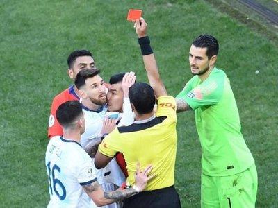 La sanción de Lionel Messi
