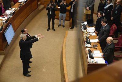 Senado: luego de tres intentos, juraron Rodríguez y Retamozo