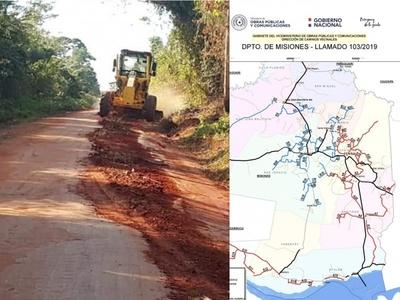 Misiones: Gobierno Nacional anuncia reparación de caminos vecinales ppor 10 mil millones de guaraníes