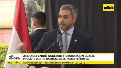 Ni pillos, ni peajeros: Abdo entregó peleado y legal beneficio para Paraguay